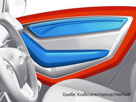 Eingeschäumte Serienteile aus expandiertem Polypropylen | EPP-Forum Bayreuth