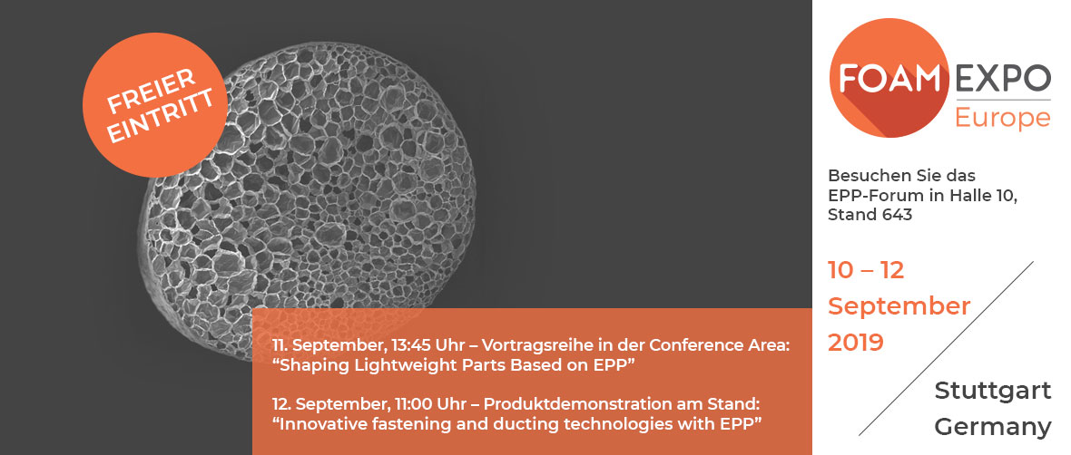Foam Expo Europe | EPP-Forum Bayreuth