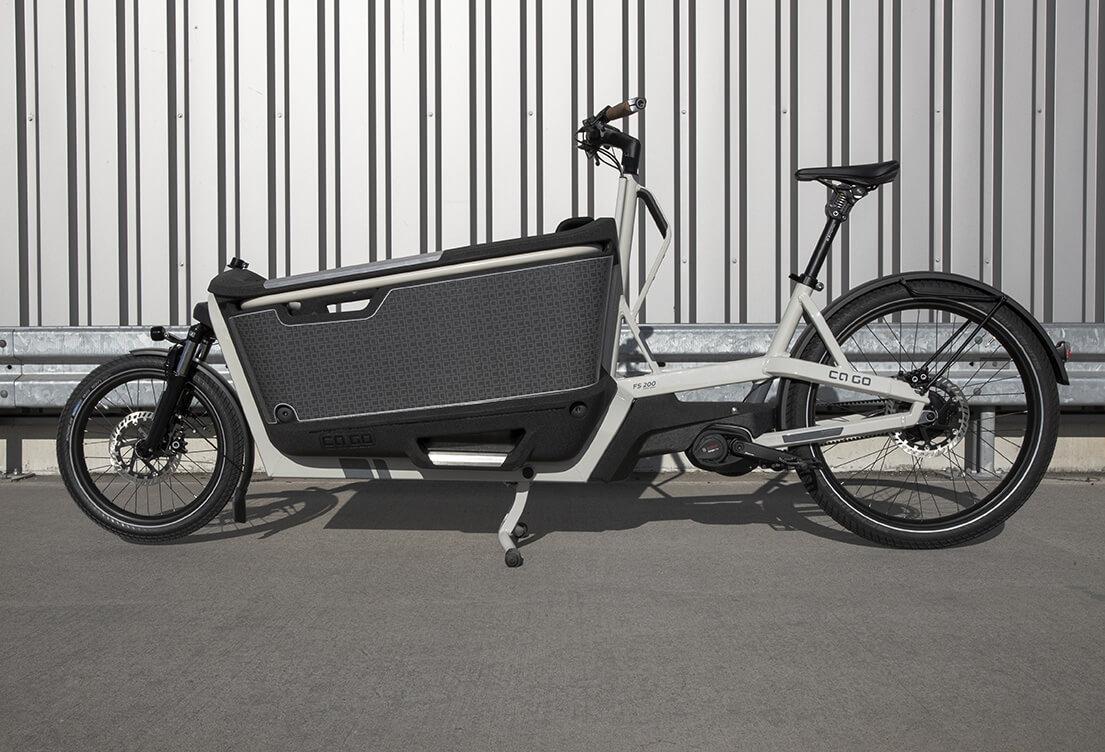 Zubehör für Lastenfahrräder aus expandiertem Polypropylen | EPP-Forum Bayreuth