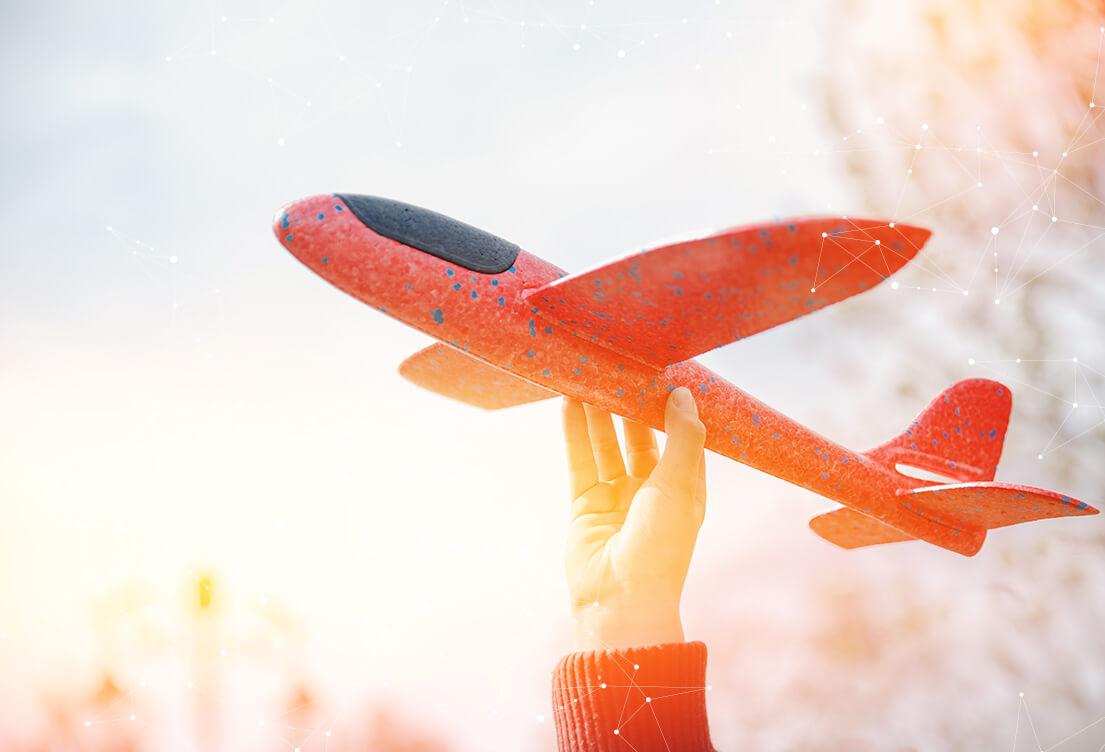 Modellflugzeug aus expandiertem Polypropylen | EPP-Forum Bayreuth